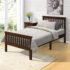 platform bed frame bed with headboard and footboard