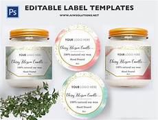 Template Label Candle Label Bernardin Jar Labels Bottlelabels Candy