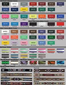 Beta Chart Beta Biothane Color Chart And Information