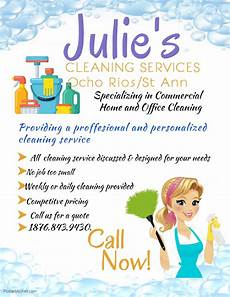 Cleaning Services Advertising Cleaning Services Offered For Sale In North Coast St