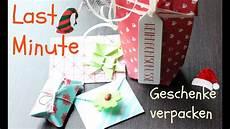 geschenke geschenke verpacken last minute geschenke einpacken diy gift wrap