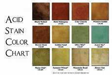 Stained Concrete Colors Chart Pin On Ideas For The House