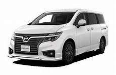 2019 nissan elgrand nissan elgrand 2019 wheel tire sizes pcd offset and