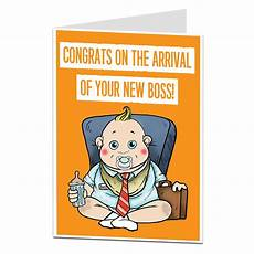 Congrats Baby Card Funny New Baby Card Congratulations Birth Boy Girl Ebay