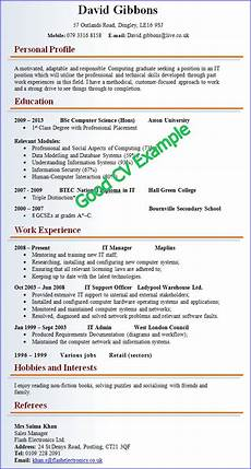 A Sample Of A Good Resume Cv Resume Template Google Search Good Cv Good Resume