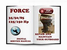 Download 50hp Outboard Repair Manual Force Outboard 35