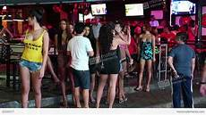 Thailand Red Light District Red Light District In Pattaya Thailand Stock Video