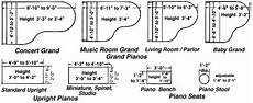 Baby Grand Piano Dimensions Typical Furniture Measurements Grand Piano Room Baby