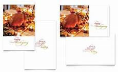 thanksgiving cards word template happy thanksgiving greeting card template word publisher