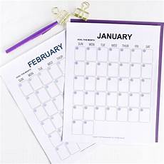 Printable Budget Calendar Monthly Budget Calendar Printable The Budget