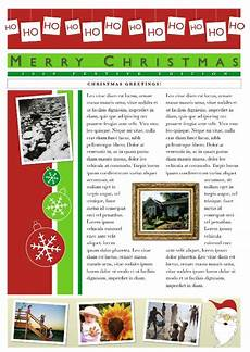 Holiday Family Newsletter Templates Lost In Singledom Annual Christmas Newsletter The