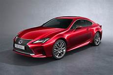 2019 lexus coupe lexus reveals 2019 rc coupe updated for motor show
