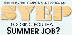 Summer Employment Gearing Up For Summer Youth Employment Budget Fight