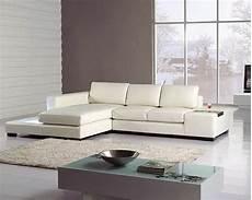 2pc white leather sectional sofa set 44lt35miniwhl