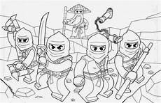 ausmalbilder lego ninjago