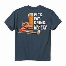 Crab T Shirt Designs New Old Bay Crab And Repeat Maryland T Shirt Ebay