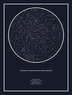 Star Chart For Date Star Maps Capture The Night Sky On The Date And Location