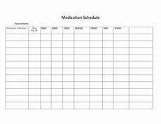 medication calendar template 40 great medication schedule templates medication calendars