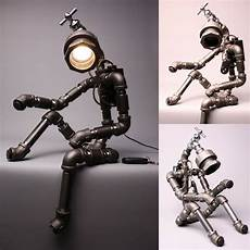 Light Robot Desk Light Lamp Home Decor Lighting Table Lamp Handmade