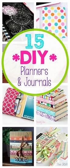School Planner Cover Ideas 15 Diy Planners Amp Journals To Make Or Print At Home