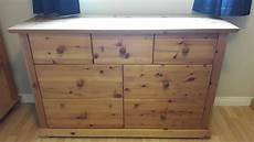 3 chest of drawers set large chest and 2 matching bedside