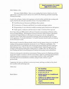 A Good Cover Letter Sample Bad Cover Letter Example