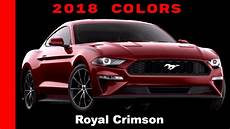 2019 ford mustang colors 2018 ford mustang colors