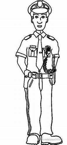 officer coloring pages to and print for free