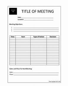 Business Meeting Minutes Template Free The Best Of Top Meeting Minutes Templates For Business
