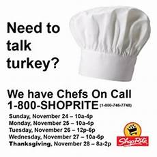 Shoprite Chefs On Call Provides Customers With A Stress