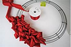 How To Fold Ribbon Tutorial How To Make A Ribbon Loop Wreath