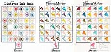 Memento Markers Color Chart In Touch Distress Markers And Memento Markers Are There
