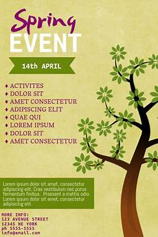 Spring Event Flyer Template Spring Event Flyer Template Postermywall