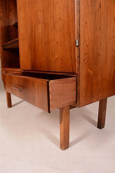 mid century modern rosewood bar cabinet at 1stdibs