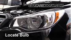 2013 Subaru Crosstrek Light Bulb Parking Light Change 2013 2019 Subaru Crosstrek 2016
