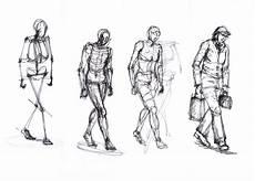 os meus desenhos a desenhar pessoas
