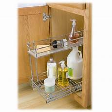 lynk roll out sink cabinet organizer pull out two