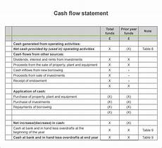Sample Of Cash Flow Free 13 Sample Cash Flow Statements In Pdf Word