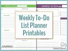 Todo Calendar Planner Plan Your Week With The New Weekly To Do List Planner