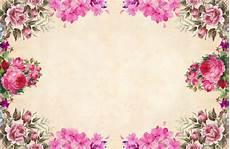 Floral Background Design Free Images Background Paper Vintage Bouquet Cluster