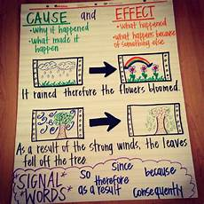 Cause And Effect Chart Cause And Effect Anchor Chart Reading Anchor Charts