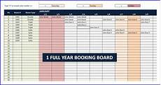 Booking Schedule Template Booking And Reservation Calendar Exceltemplate Net