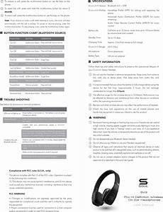 Bluetooth Headset Radiation Chart Soul Electronics Sv3 Volt Pro Hi Definition Wireless On