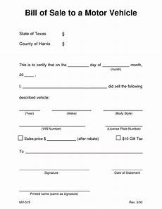 Bill Of Sale For Car In Texas Car Bill Of Sale Texas 470581 Examples Vehicle Ate Word