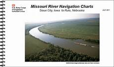 Army Corps Of Engineers River Charts Upper Missouri River Navigation Charts Sioux City Iowa To