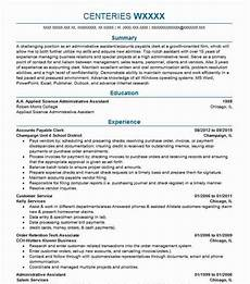 Resume For Account Accounts Payable Clerk Resume Objectives Resume Sample