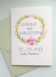 Watercolor Wedding Cards Things I Make And Stuff I Like Watercolor Wedding Card