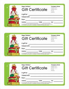 Gift Certificate Ideas For Christmas Free Gift Certificate Template And Tracking Log