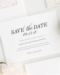 Wedding Save The Date Invitations Classic Romance Save The Date Cards Save The Date Cards