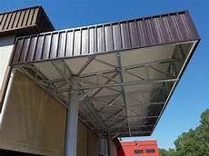 tettoie in acciaio tettoie e pensiline in metallo progeco strutture